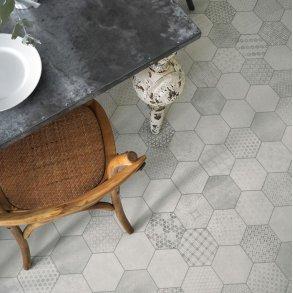 Vinylgulve med mønster og beton look