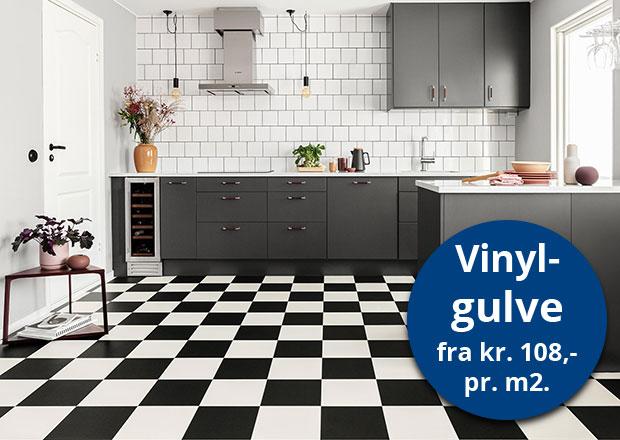 vinylgulve gulve vinyl køkken