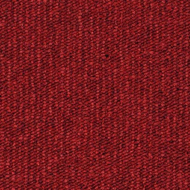 Tæppeflise rød ege Contra Stripe Ecotrust