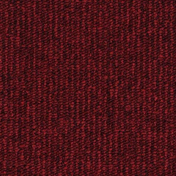 Tæppeflise brændt rød ege Contra Stripe Ecotrust