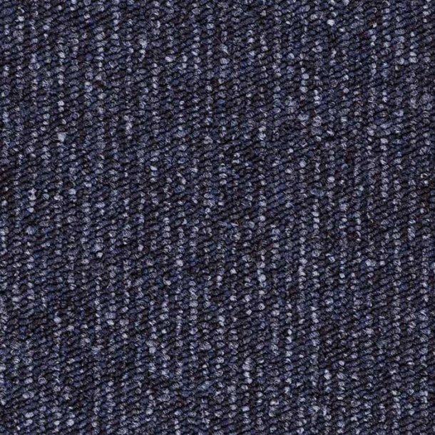 Tæppeflise blæk blå ege Contra Stripe Ecotrust