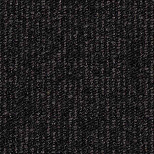 Tæppeflise mørk grå ege Contra Stripe Ecotrust