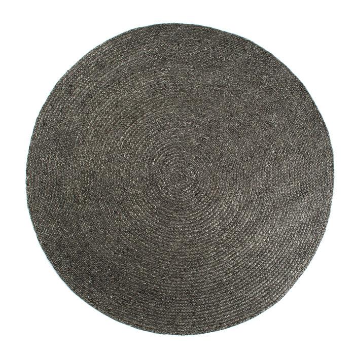 runde tæpper stavanger 033 Dark Grey