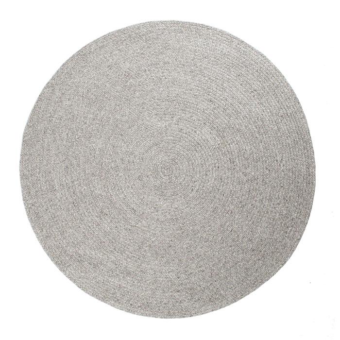 runde tæpper 230 silver