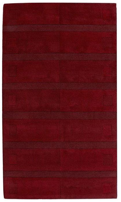Rød - Agra tæppe