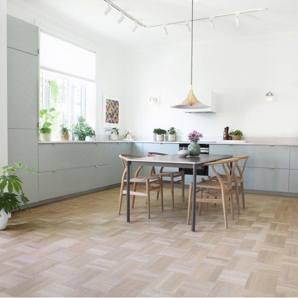 Trægulv eg Scandinavia Basket Weave Tarkett Noble