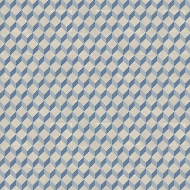 Vinylgulv Cube Tile Blue Tarkett Trend 240