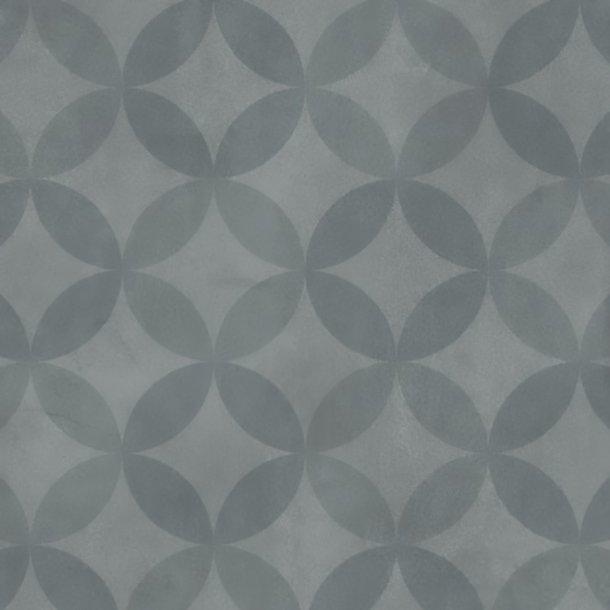 Vinylgulv Circle Flower Blue Tarkett Trend 240