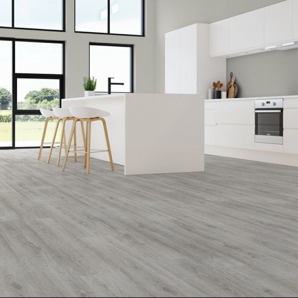 Akustikgulv Limed Grey Oak Wicanders Commercial